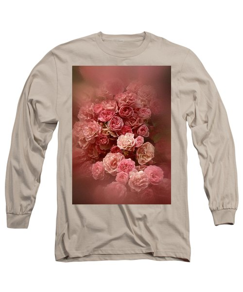 Long Sleeve T-Shirt featuring the photograph Beautiful Roses 2016 by Richard Cummings