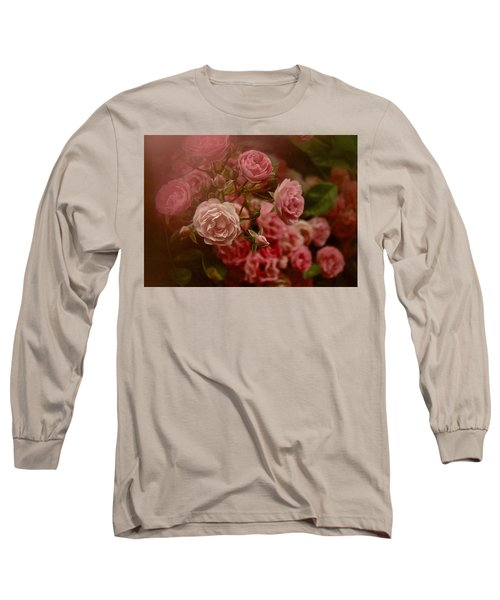 Long Sleeve T-Shirt featuring the photograph Beautiful Roses 2016 No. 2 by Richard Cummings