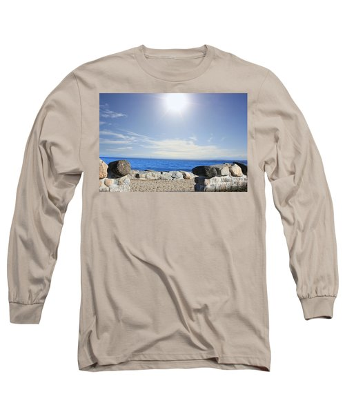 Beauty In The Distance Long Sleeve T-Shirt by Judy Palkimas