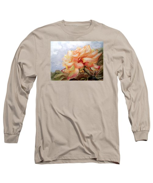 Long Sleeve T-Shirt featuring the painting Beauty In Yellow by Carol Grimes