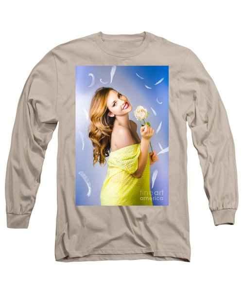Beauty Of Romance Floating In The Summer Breeze Long Sleeve T-Shirt
