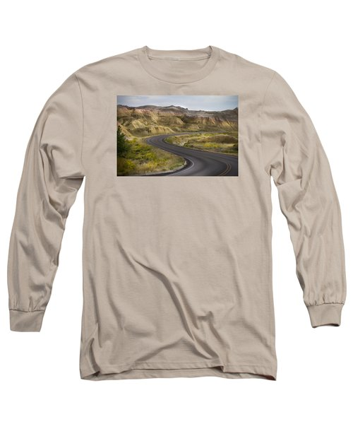 Long Sleeve T-Shirt featuring the photograph Beauty Of The Badlands South Dakota by John Hix