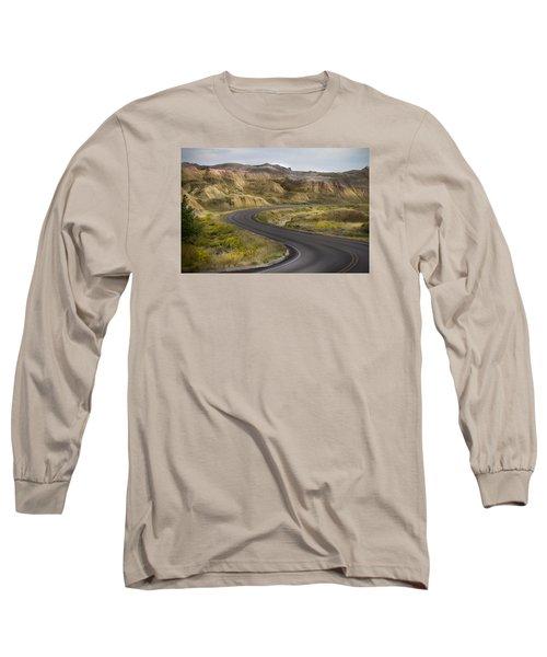 Beauty Of The Badlands South Dakota Long Sleeve T-Shirt