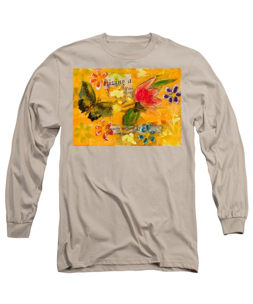 Beauty Without Vanity Long Sleeve T-Shirt