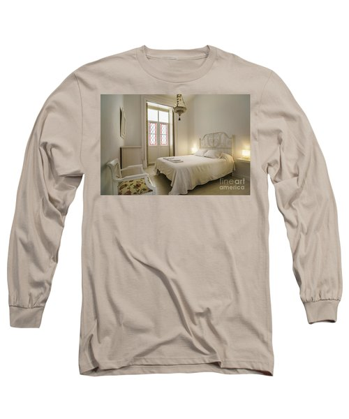 Long Sleeve T-Shirt featuring the photograph Bedroom Apartment In The Heart Of Cadiz by Pablo Avanzini