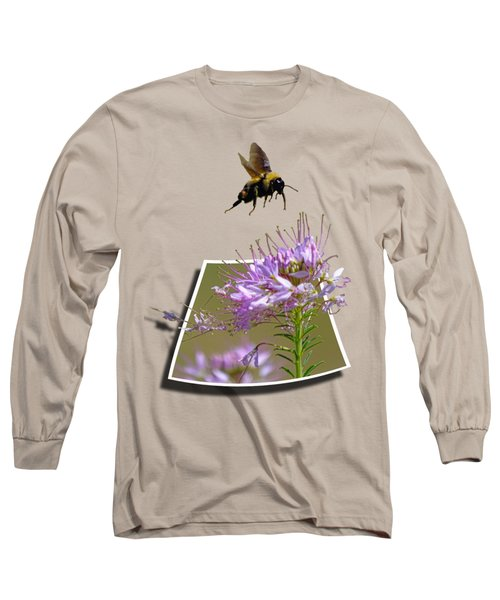 Bee Free Long Sleeve T-Shirt by Shane Bechler