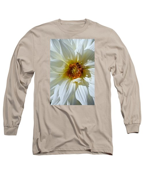 Bee Nice Dahlia  Long Sleeve T-Shirt