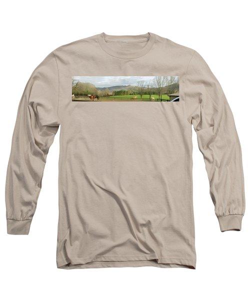 Behind The Dillard House Restaurant Long Sleeve T-Shirt