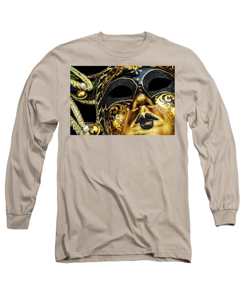 Long Sleeve T-Shirt featuring the photograph Behind The Mask by Carolyn Marshall