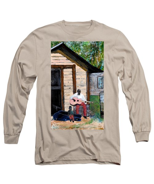 Behind The Old House Long Sleeve T-Shirt