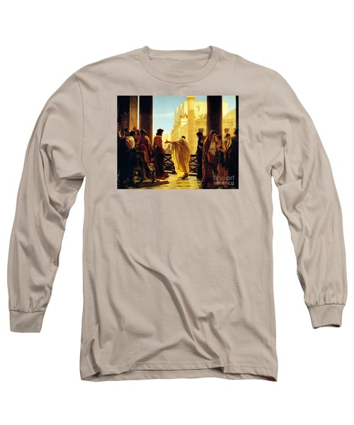 Behold The Man Long Sleeve T-Shirt by Celestial Images