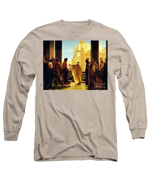 Behold The Man Long Sleeve T-Shirt