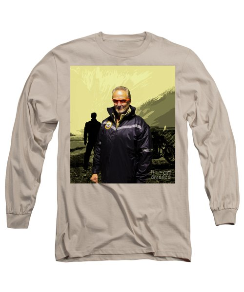 Long Sleeve T-Shirt featuring the photograph Being In The Movie IIi by Al Bourassa