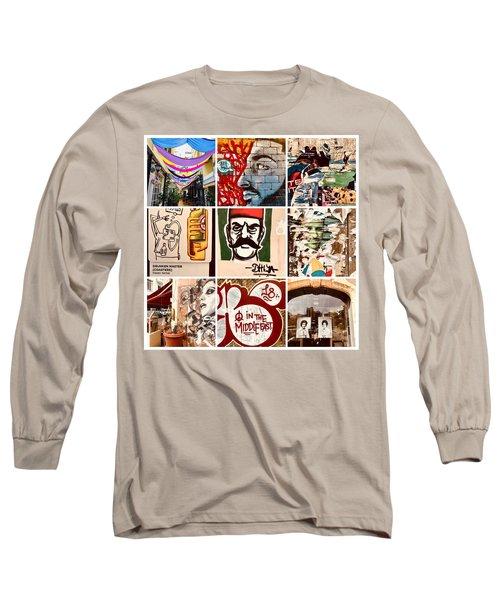 Beirut Funky Shots Long Sleeve T-Shirt