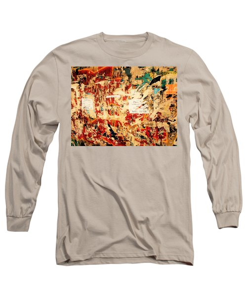 Beirut Funky Wall Art  Long Sleeve T-Shirt