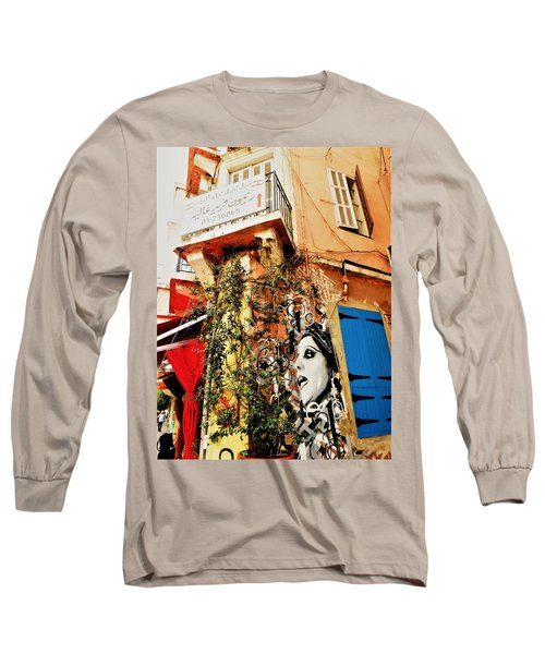 Beirut Home Tagged With Fayrouz Long Sleeve T-Shirt