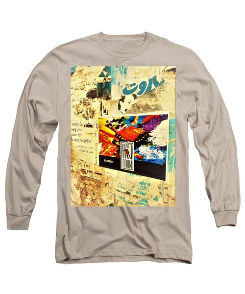 Beirut Wall  Long Sleeve T-Shirt
