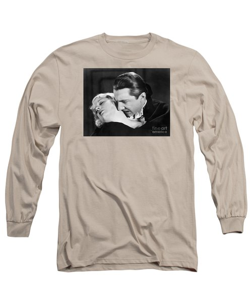 Bela Lugosi  Dracula 1931  Feast On Mina Helen Chandler Long Sleeve T-Shirt