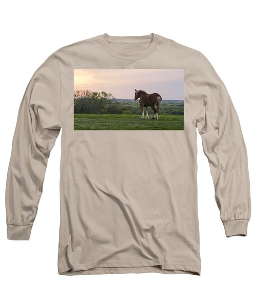 Belgian At Sunset Long Sleeve T-Shirt