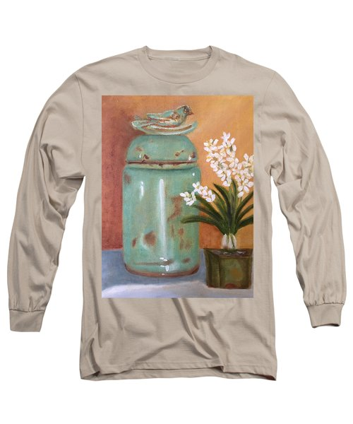 Bell Jar Long Sleeve T-Shirt by Sharon Schultz