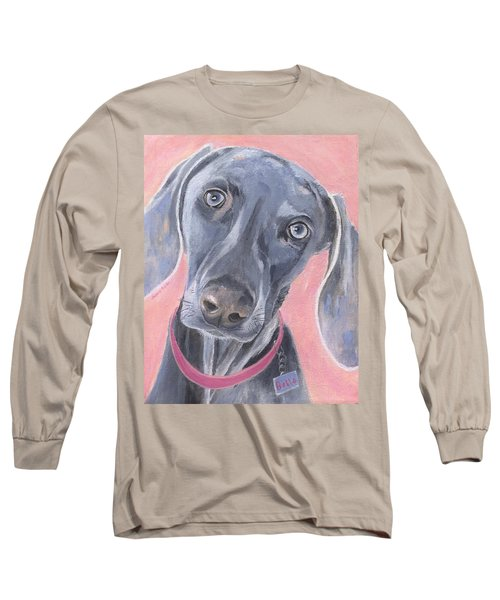 Long Sleeve T-Shirt featuring the painting Bella by Jamie Frier