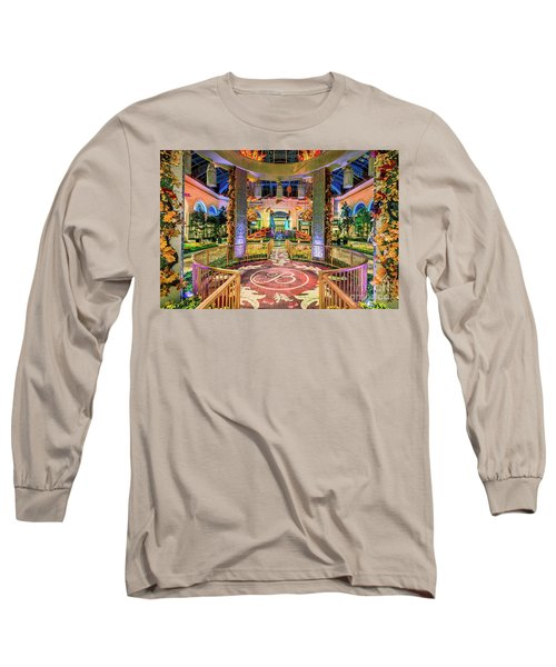 Bellagio Conservatory Fall Peacock Display Gazebo View 2017 Long Sleeve T-Shirt