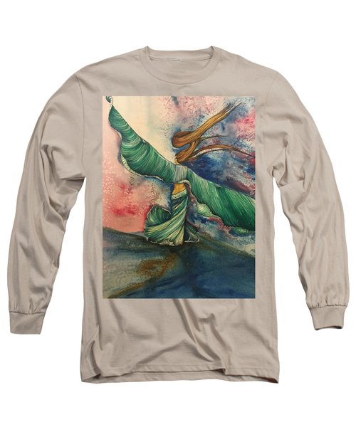 Belly Dancer With Wings  Long Sleeve T-Shirt