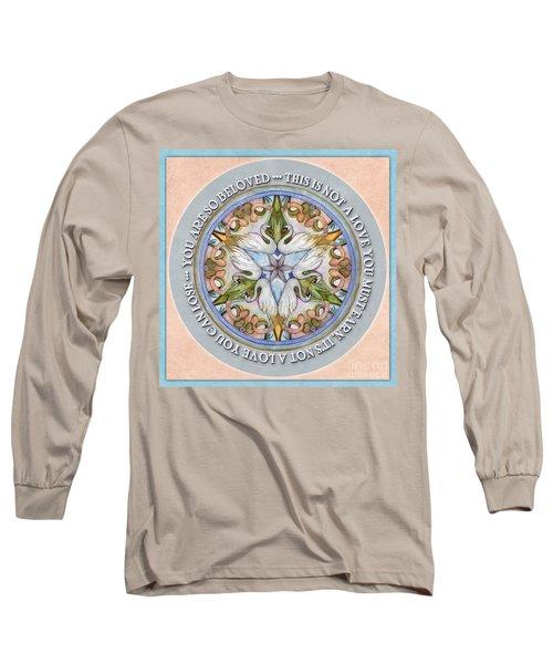 Beloved Mandala Prayer Long Sleeve T-Shirt