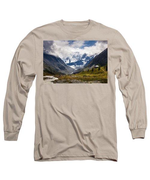 Belukha Mountain. Altay. Russia Long Sleeve T-Shirt