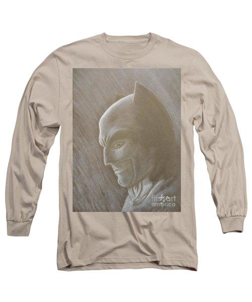 Ben As Batman Long Sleeve T-Shirt by Josetta Castner