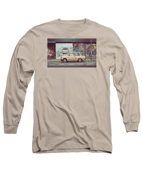 Berlin East Side Gallery Long Sleeve T-Shirt by JR Photography