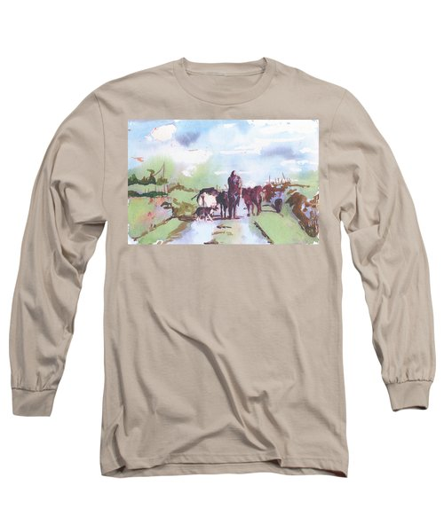 Bernie On The Road Long Sleeve T-Shirt
