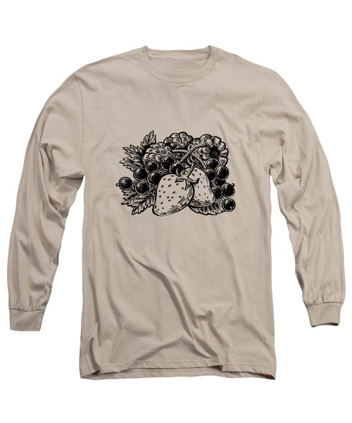 Berries From Forest Long Sleeve T-Shirt