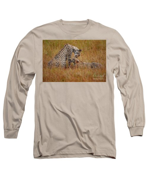 Best Of Friends Long Sleeve T-Shirt by Nichola Denny