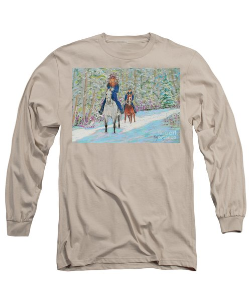 Beth And Nancy  Long Sleeve T-Shirt by Rae  Smith  PAC