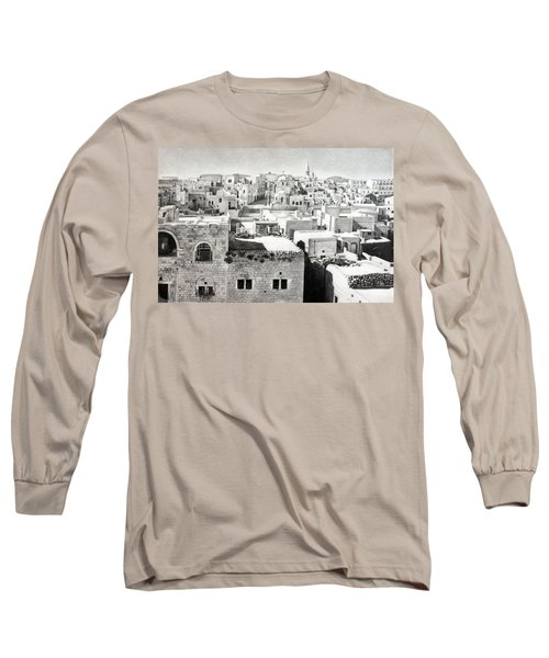 Bethlehem Old Town Long Sleeve T-Shirt by Munir Alawi