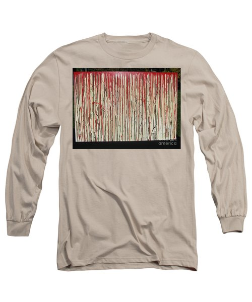 Long Sleeve T-Shirt featuring the painting Betrayal by Jacqueline Athmann