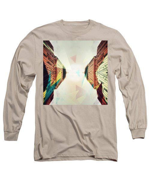 Between Imagination And Reality Long Sleeve T-Shirt