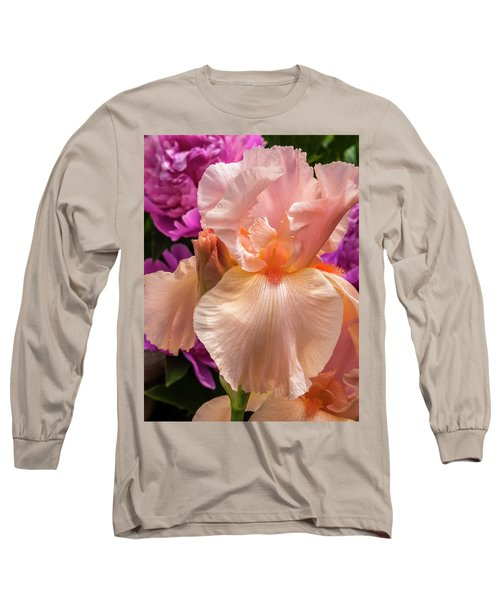 Beverly Sills Iris Long Sleeve T-Shirt
