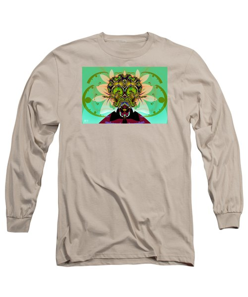 Ackrack - Interplanetary Long Sleeve T-Shirt by Jim Pavelle