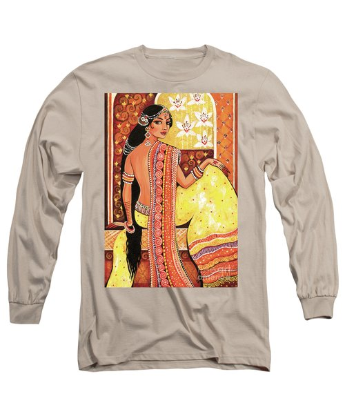 Bharat Long Sleeve T-Shirt by Eva Campbell