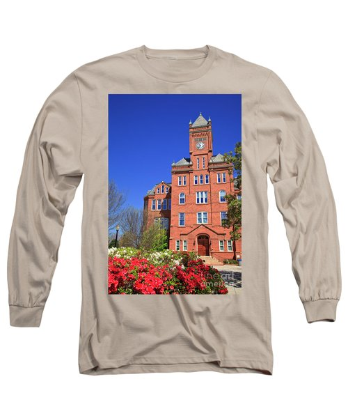 Biddle Hall In The Spring Long Sleeve T-Shirt