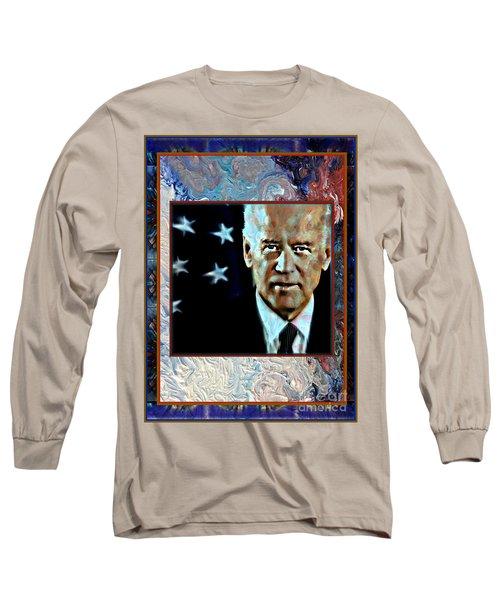Biden Long Sleeve T-Shirt by Wbk