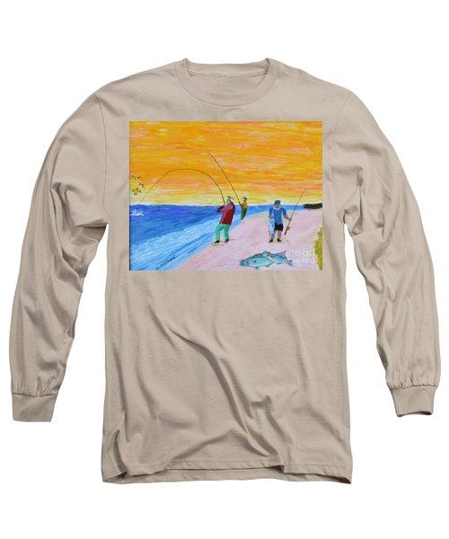 Big Blues At Herring Cove Long Sleeve T-Shirt