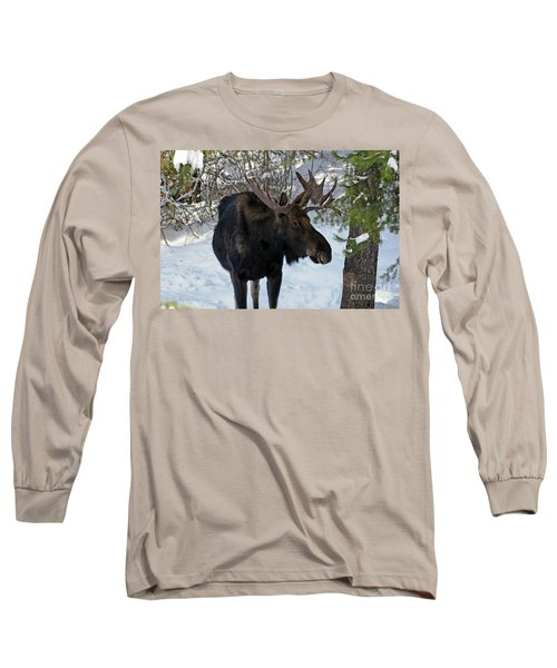 Big Moose Long Sleeve T-Shirt