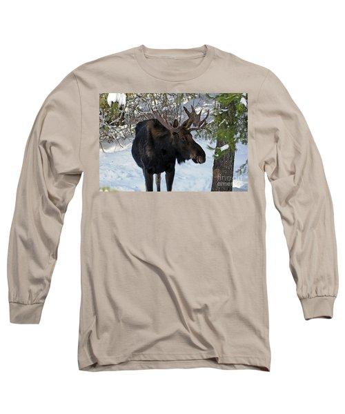 Big Moose Long Sleeve T-Shirt