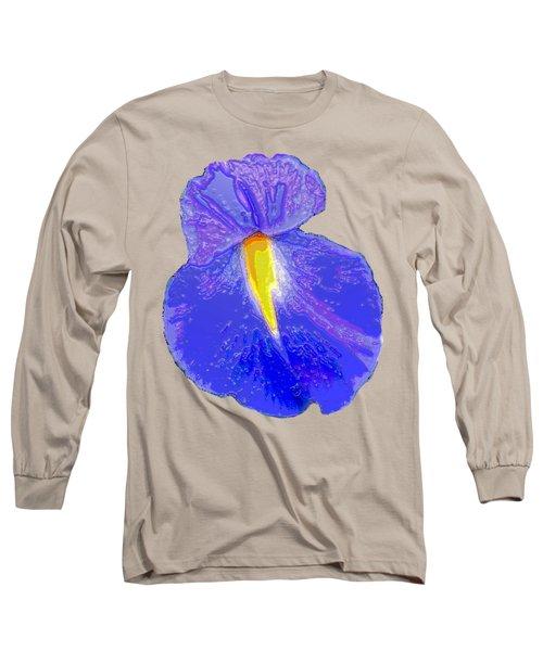 Big Mouth Iris Long Sleeve T-Shirt