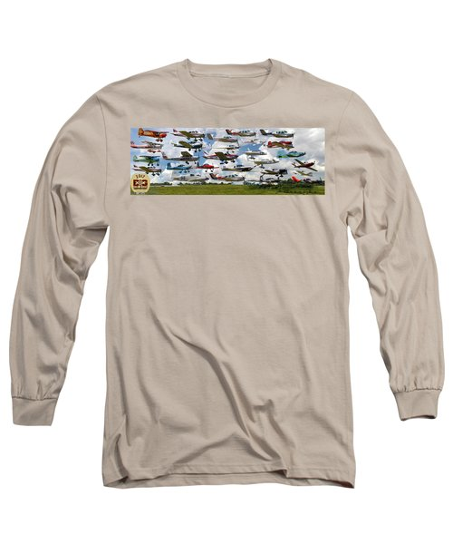Big Muddy Fly-by Collage Long Sleeve T-Shirt
