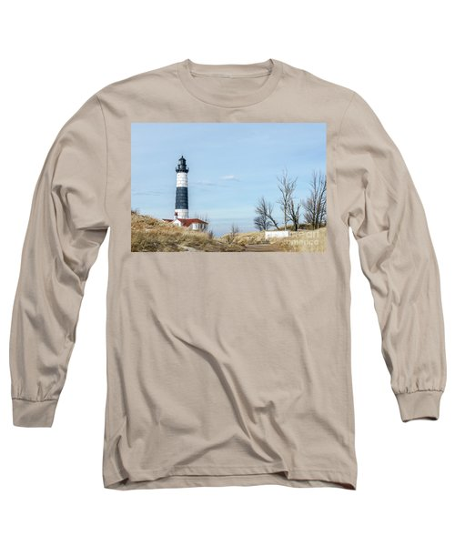 Big Sable Point Lighthouse And Tower Long Sleeve T-Shirt