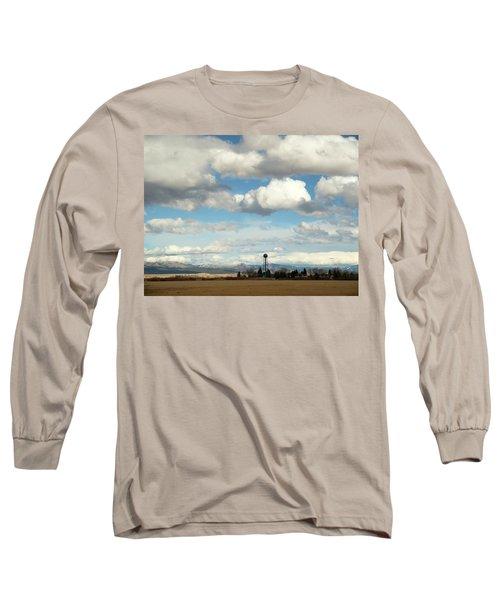 Big Sky Water Tower Long Sleeve T-Shirt